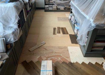 engineered Herringbone flooring