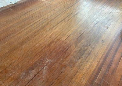 Solid Mahogany Strip Floor