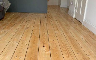 New Pine Floorboards