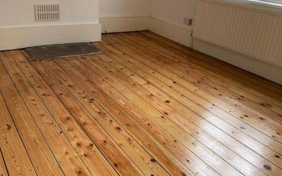 Old Pine Floorboards